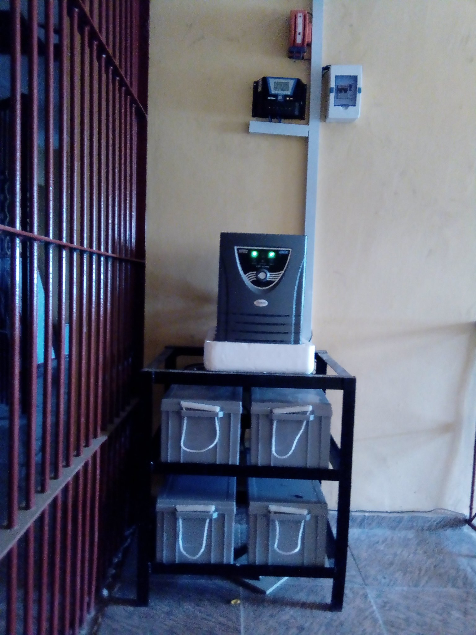 3.5kVA installed by GRIENSOLAR